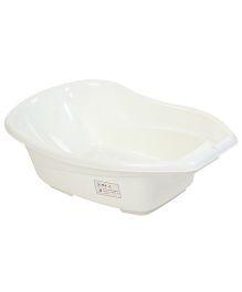 Babyhug Baby Bath Tub Animal Print - White