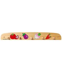 Little Genius - Wooden Hanger Vegetables