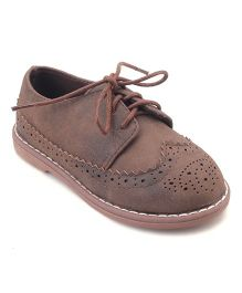 Doink Party Wear Shoes - Light Brown
