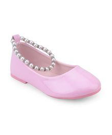 Doink Belly Shoes Pearl Detail - Pink