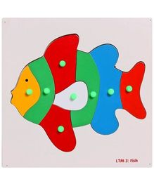 Little Genius - Wooden Fish Puzzle