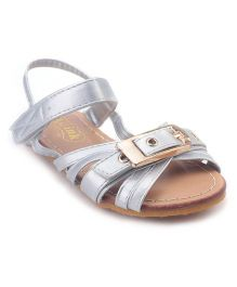 Doink Sandals Buckle Design - Silver