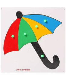 Little Genius - Wooden Umbrella Puzzle