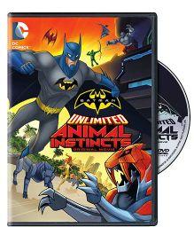 DC Comics Batman Unlimited Animal Instincts Movie English - DVD