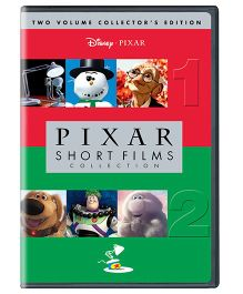 Disney Pixar Shorts Films Collection Volume 1 And 2 English - DVD