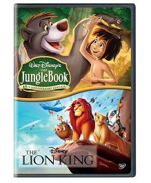 Sony The Lion King And The Jungle Book Movies English - DVD