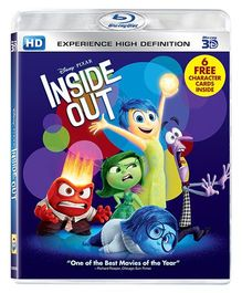 Sony Inside Out HD Blue Ray 3D - English
