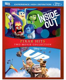 Sony Up And Inside Out Pixar Hits HD Blue Ray - English