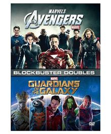 Marvel Avengers And Guardians of Galaxy Movie DVD - English