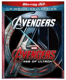Marvel The Avengers And Avengers Age Of Ultron Blue Ray 3D Movie - English