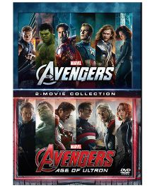 Marvel The Avengers And Avengers Age of Ultron DVD - English