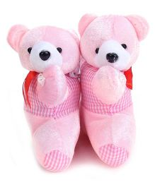 Curtain Holder Bear Soft Toy - Pink