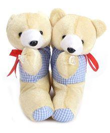 Curtain Holder Bear Soft Toy - Cream