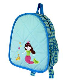 Little Pipal Water Friends Mermaid Toddler Backpack Blue - 11 Inches