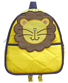 Little Pipal Jungle Collection Lion Toddler Backpack Yellow - 11 Inches