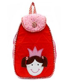 Little Pipal Cutie Pie Junior Backpack Red - 14 Inches