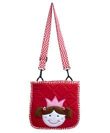Little Pipal Cutie Pie Cross Body Bag Red - 10 Inches