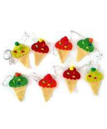 Fairytales Fairylights With Ice-creams - Multicolour