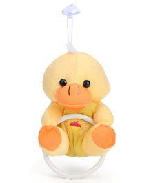 Duck Shape Soft Toy Towel Hanger - Yellow