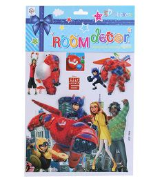 Room Decor Wall Stickers Heroes Theme - Multicolor