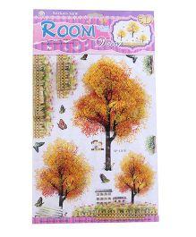 Room Decor Autumn Fall Theme Wall Stickers - Mustard Yellow