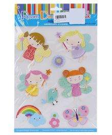 Peel And Stick Handmade Stickers - Multicolor