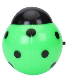 LED Night Lamp Ladybug Shape - Green