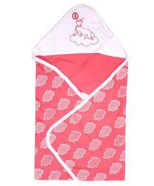 Beebop Hooded Comforter - Pink