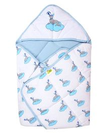 Beebop Baby Carry Nest - Blue