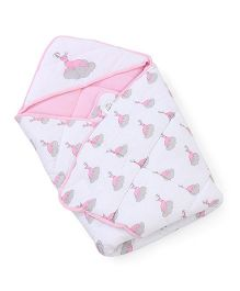 Beebop Baby Carry Nest - Baby Pink