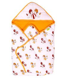 Beebop Baby Carry Nest - Orange