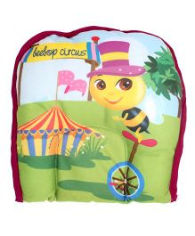 Beebop Babee's Circus Print Cushion - Multicolour