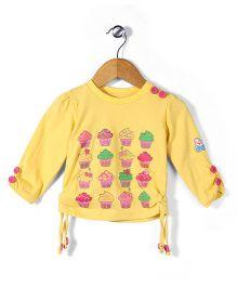 Babyhug Full Sleeves Top - Yellow
