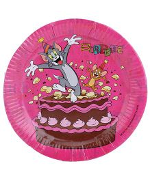 Tom And Jerry Party Paper Plate - Pack Of 10