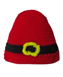MayRa Knits Christmas Cap - Red