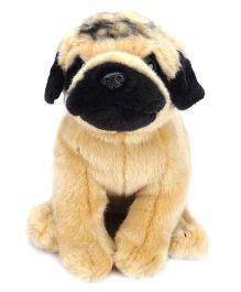 Hamleys Pug Soft Toy - Beige