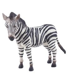 Hamleys CollectA Common Zebra Toy Figure - Black And White