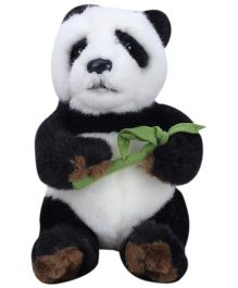 Hamleys Baby Pong Panda Soft toy Black And White - 19 cm