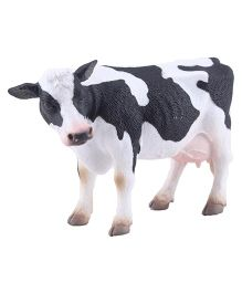 Hamleys CollectA Cow Figure - Black And White