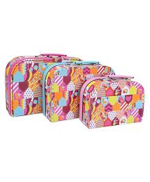 Hamleys Luvely Nesting Carry Cases - Pack of 3