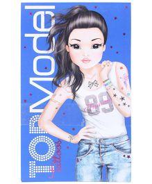 Hamleys Top Model Tattoo Book