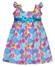 Mom's Girl Floral Dress - Multicolour