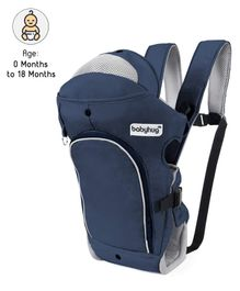 Babyhug Comfort Nest 3 Way Baby Carrier - Navy Blue