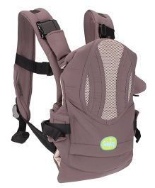 Babyhug Snuggle Me 3 Way Baby Carrier - Grey & Wheat