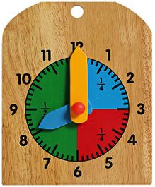 Little Genius -  Wooden Learning Clock