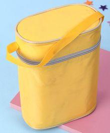 Insulated Double Bottle Bag - Yellow