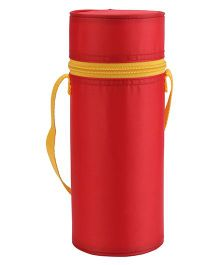 Round Shape Insulated Feeding Bottle Holder - Red