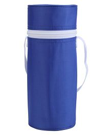 Round Shape Insulated Feeding Bottle Holder - Blue