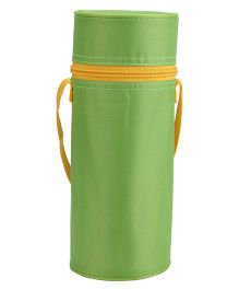 Round Shape Insulated Feeding Bottle Holder - Green