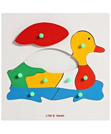 Little Genius - Wooden Swan Puzzle
